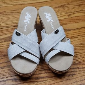 Anne Klein Sport Sandals Sz 11